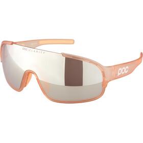 POC Crave Occhiali da sole, light citrine orange/brown silver mirror